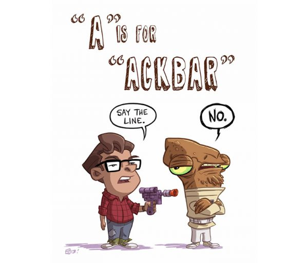 ABCDEFGeek by Otis Frampton A