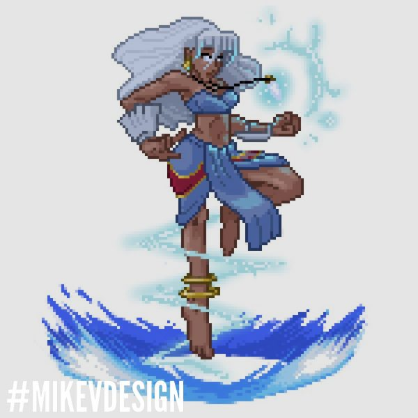 Capcom Disney Characters MikeVDesign Storm