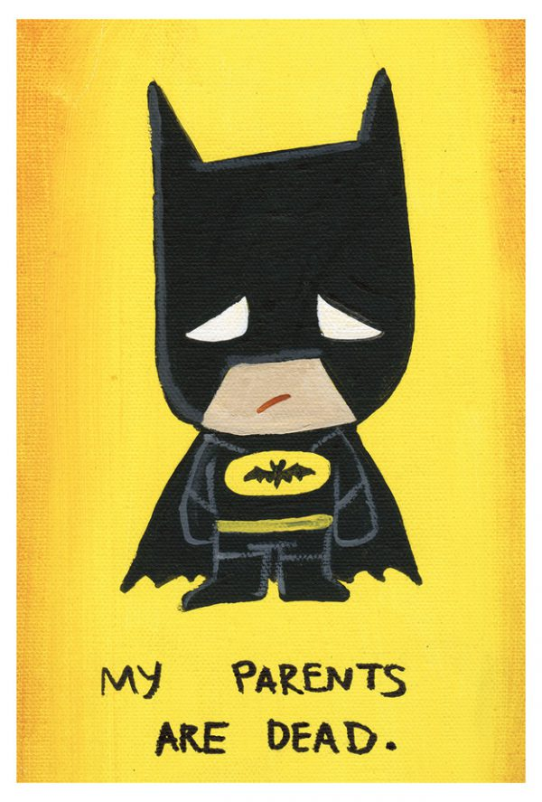 Cute Emo Pop Culture Icons Batman