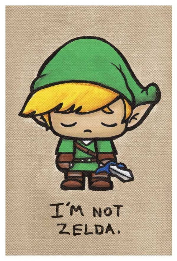 Cute Emo Pop Culture Icons Link Zelda