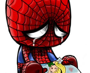 Cute Emo Pop Culture Icons Spiderman