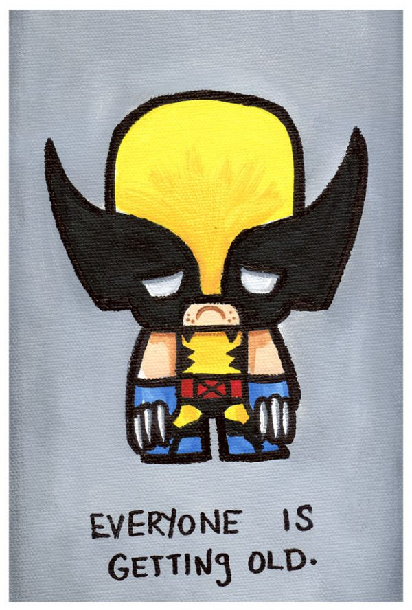 Cute Emo Pop Culture Icons Wolverine