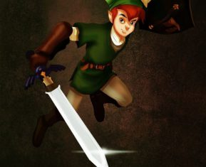 Disney Heroes Dressed Up In Awesome Halloween Costumes by Isaiah Stephens Peter Pan