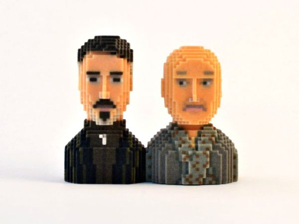 Game of Thrones in Pixels by Leblox Baelysh & Varys