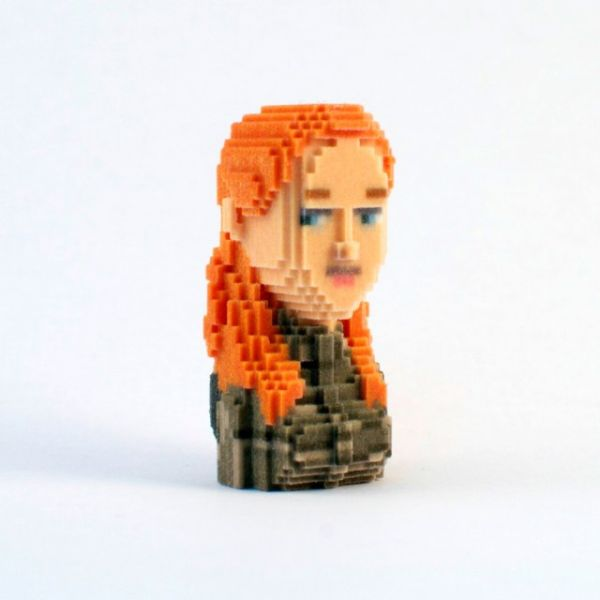 Game of Thrones in Pixels by Leblox Igritte