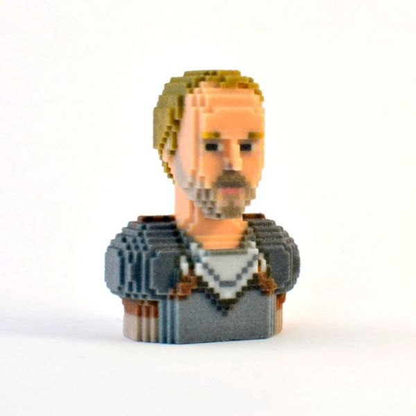Game of Thrones in Pixels by Leblox Jorah Mormont