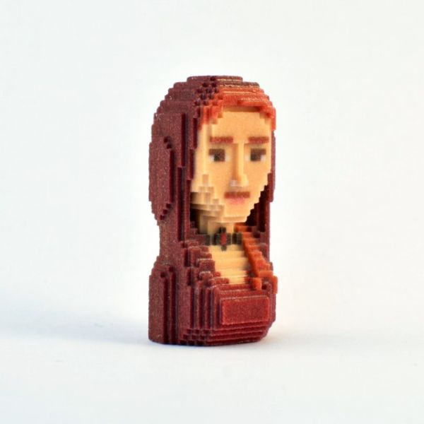 Game of Thrones in Pixels by Leblox  Melisandre