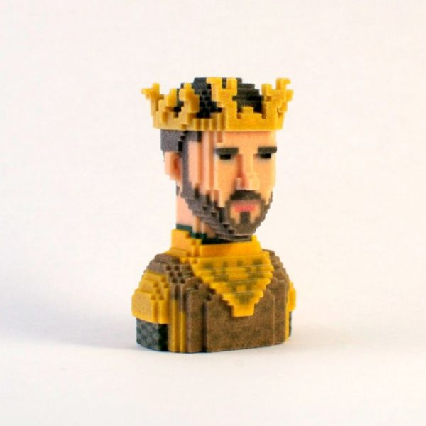 Game of Thrones in Pixels by Leblox  Renly Baratheon