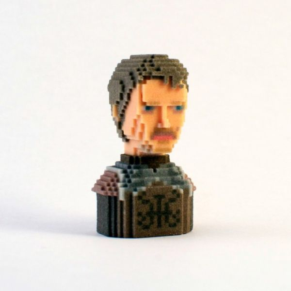 Game of Thrones in Pixels by Leblox Theon Greyjoy