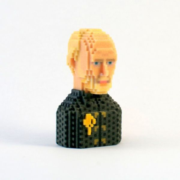 Game of Thrones in Pixels by Leblox Tywin Lannister
