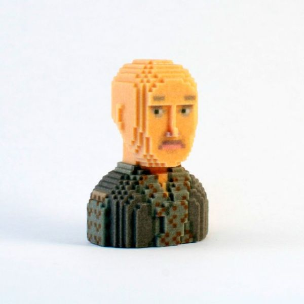 Game of Thrones in Pixels by Leblox Varys