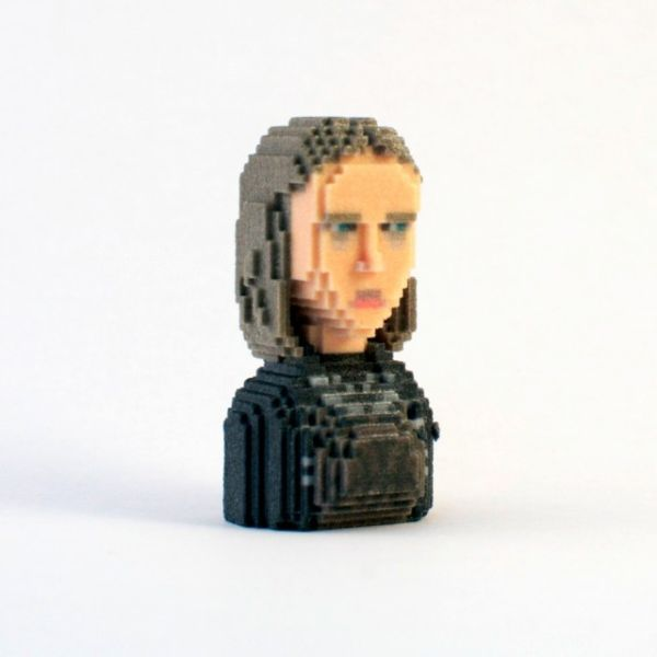 Game of Thrones in Pixels by Leblox Yara Greyjoy