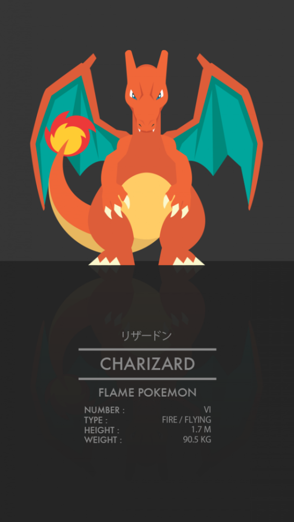 Pokémon Starters by Thong Le Charizard