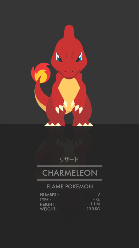 Pokémon Starters by Thong Le Charmeleon