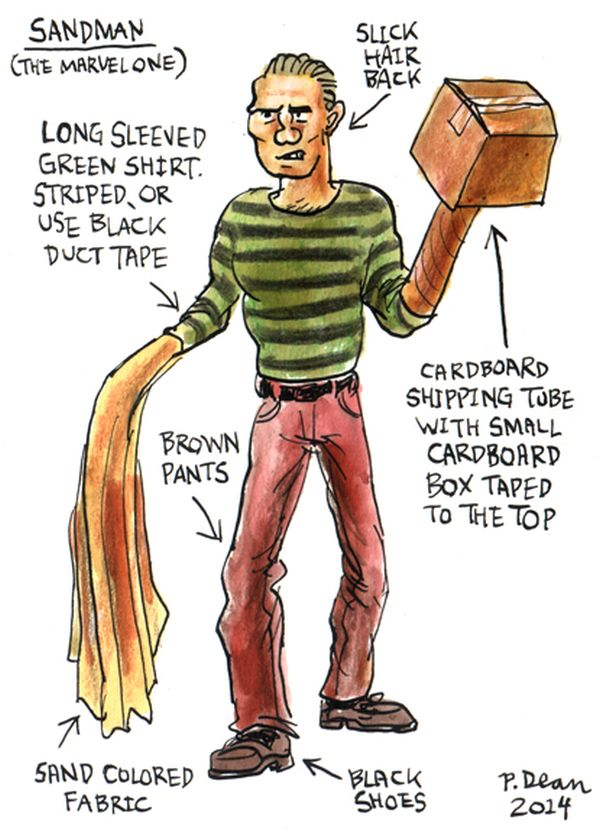 half assed cosplay ideas by patrick dean sandman