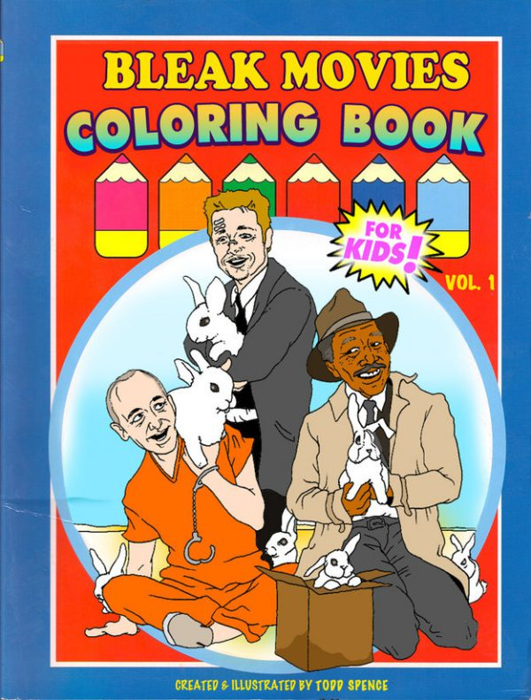 Bleak Movies Coloring Book title
