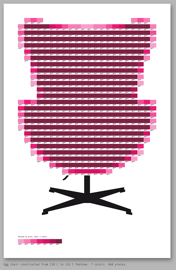 Pantone as pixel by Txaber 13