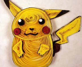 Paper Quilling Starter Generation One by Aimie Holdorf Pikachu