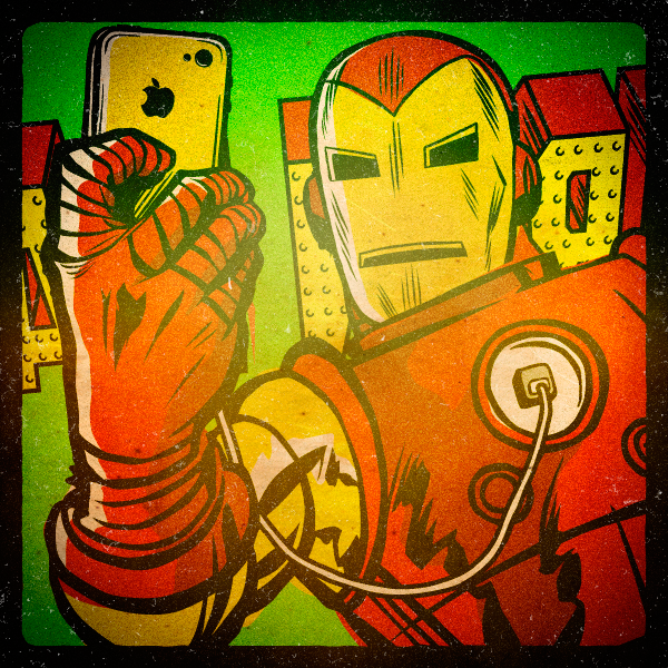 Superhero Selfies Ironman by Butcher Billy