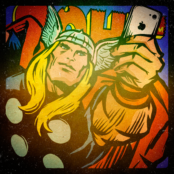 Superhero Selfies Thot by Butcher Billy