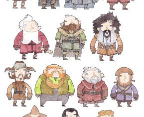Bilbo-Drawings-Mister-Hope