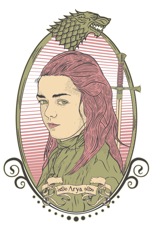 Game of Thrones Drawings Arya