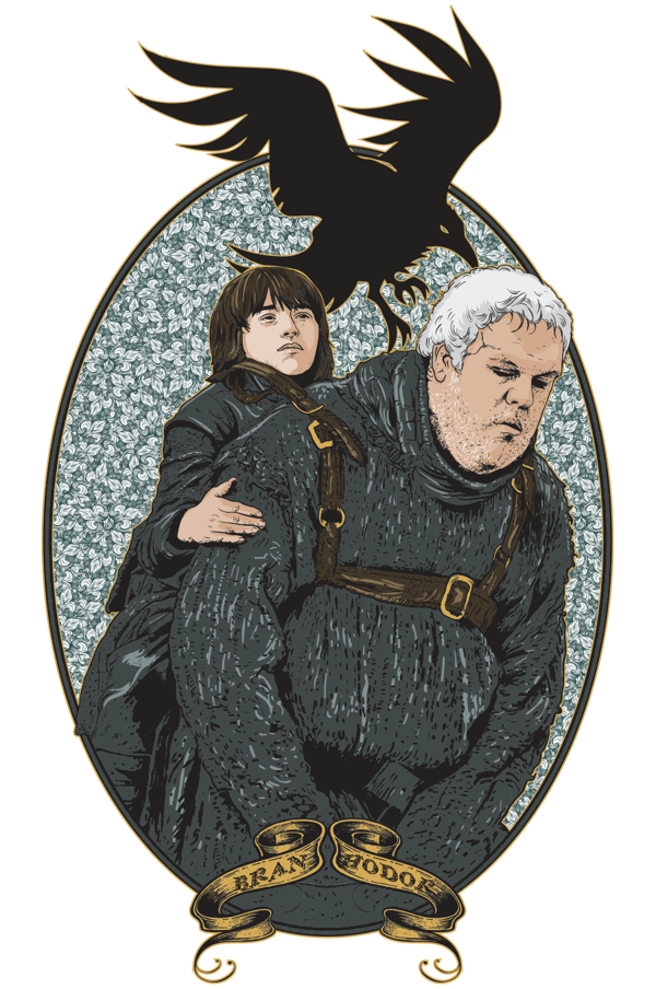 Game of Thrones Drawings Hodor