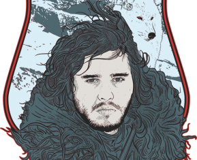 Game of Thrones Drawings Jon Snwo