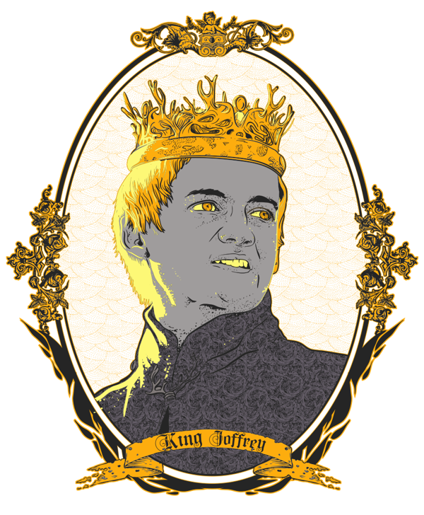 Game of Thrones Drawings King Joffrey
