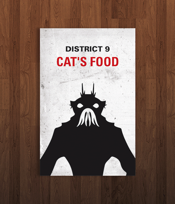 Pop Culture Icon Business Cards District 9