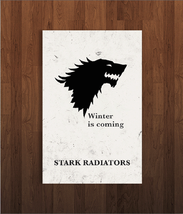 Pop Culture Icon Business Cards Game of Thrones