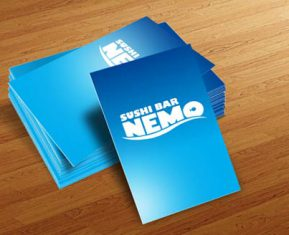 Pop Culture Icon Business Cards Nemo Cards