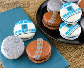 Star Wars Macarons All