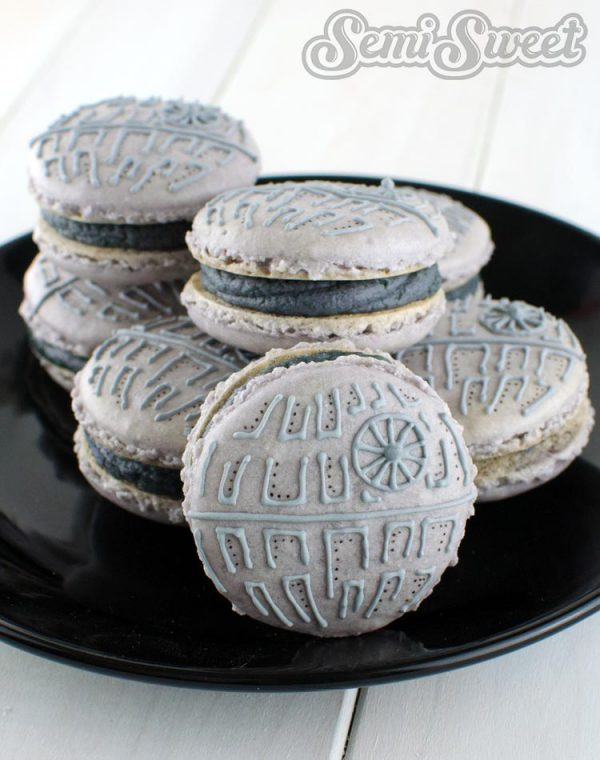 Star Wars Macarons Death Star