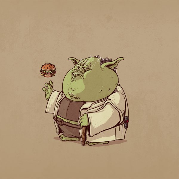 The Famous Chunkies Alex Solis Yoda