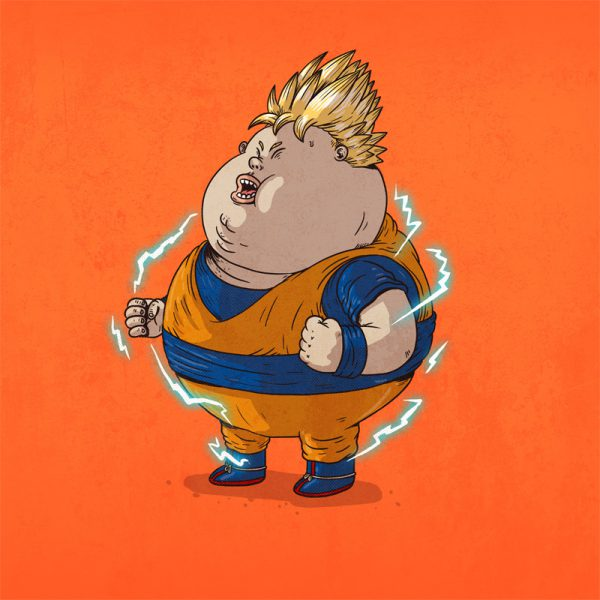 The Famous Chunkies Dragon Ball Alex Solis