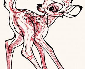XRAY Comic Characters Bambi by Chris Panda