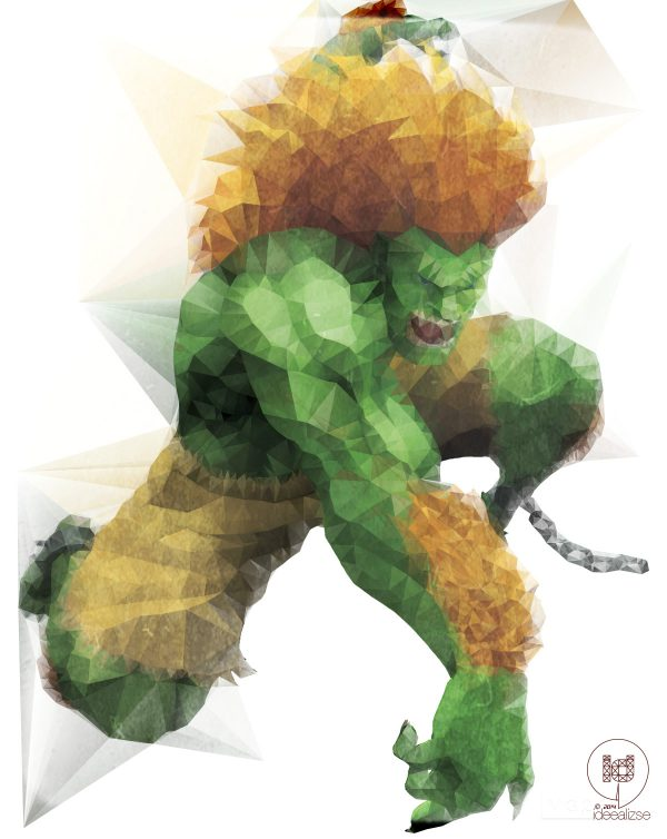 polygon hero blanka