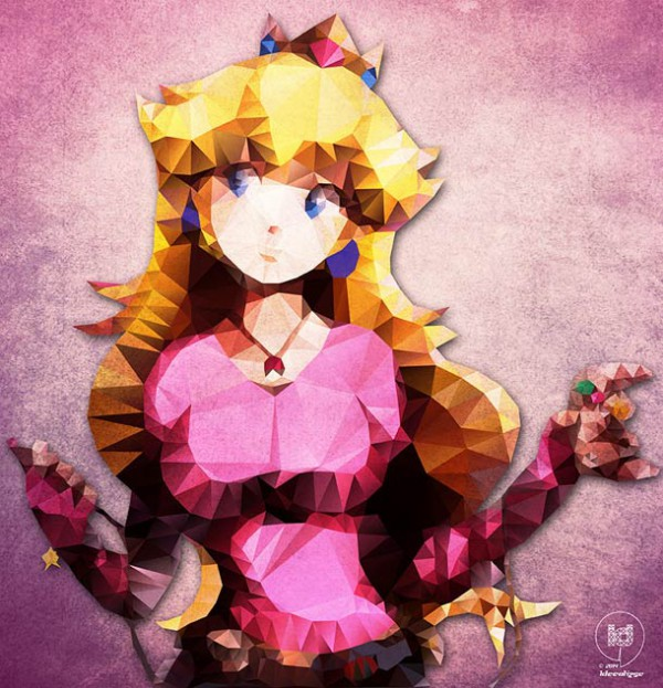 polygon hero peach