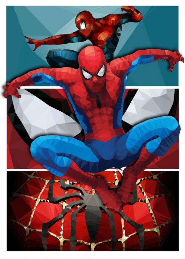 polygon hero spiderman 2