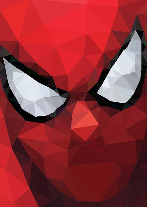 polygon hero spiderman