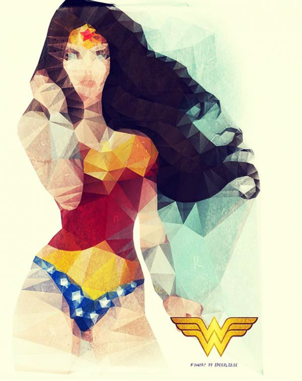 polygon hero wonder woman
