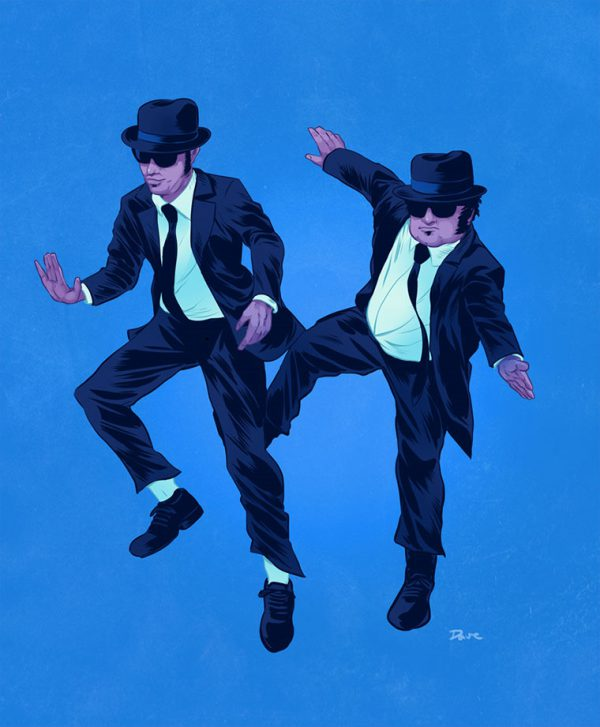 pop-culture-buddies-dave-collison-blues-brothers