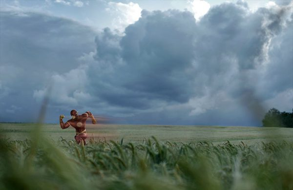 superhero in real lanscapes by benoit lapray flash