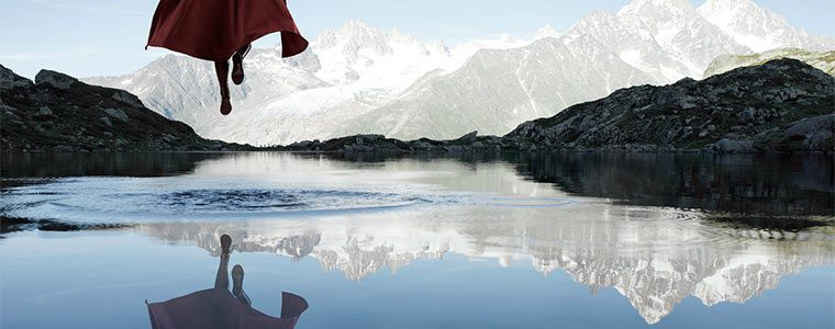 superhero in real lanscapes by benoit lapray superman