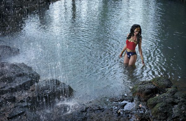 superhero in real lanscapes by benoit lapray wonder woman