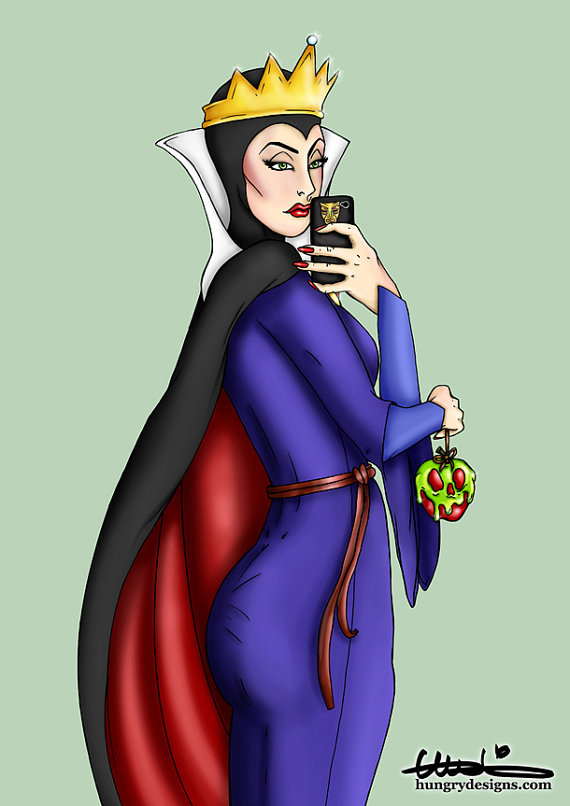 Disney Selfie Bad Queen Hungry Designs