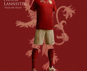 Game of Thrones World Cup Nike Concepts House Lannister