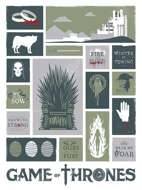 Final poster - Game of thrones objet ...