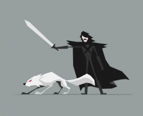 Jerry-Liu-Game-of-Thrones-Fan-art-jon-snow